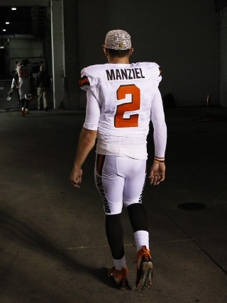 Johnny Be Gone Browns Release Manziel After 2 Seasons Wbff