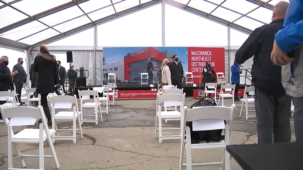 Governor Hogan delivers remarks at groundbreaking of McCormick ...