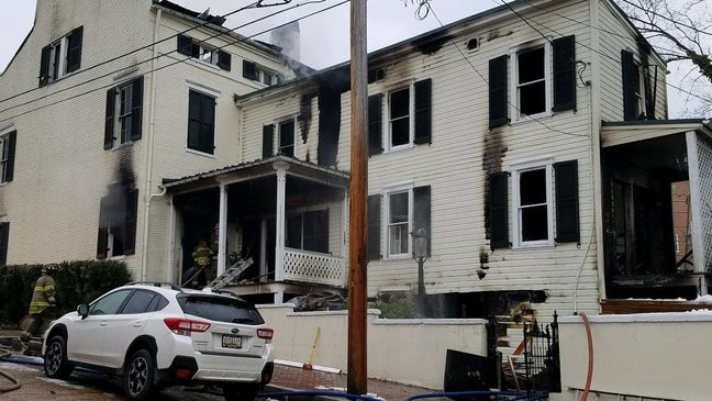 3-alarm fire in Cumberland destroys two historic buildings