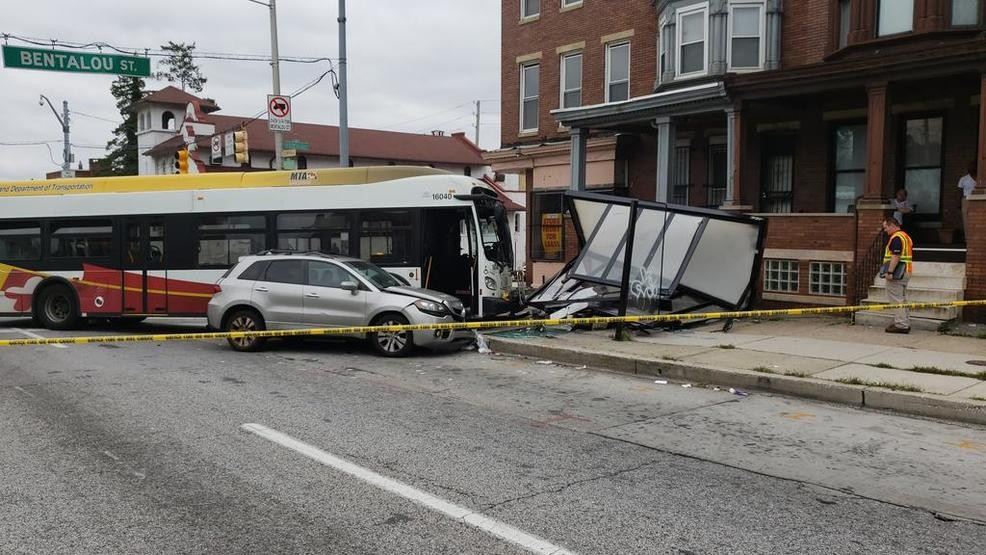 Bus accident in West Baltimore, expect delays | WBFF