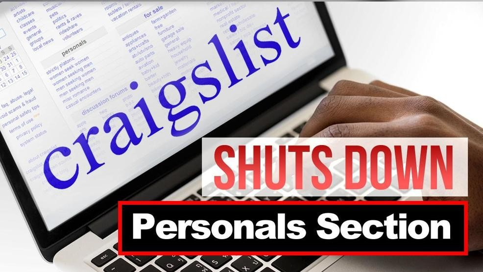 Craigslist Washington Dc Personals >> Craigslist Ends Us Personals Section Over New Sex Trafficking Bill