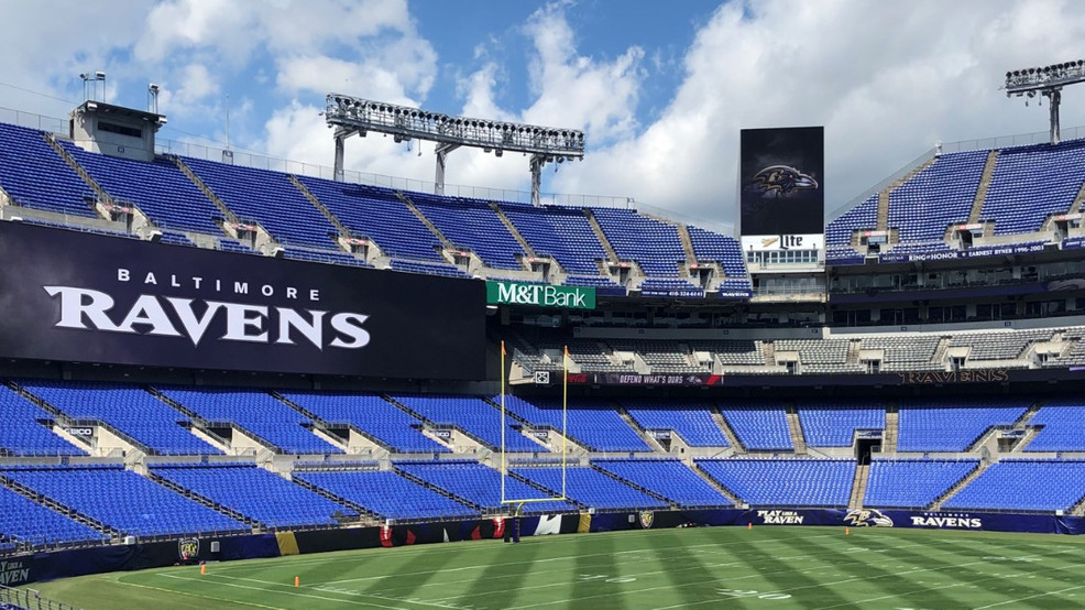 Ravens Fans Watching From A Distance Monday Night Wbff
