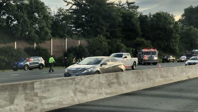 TRAFFIC TROUBLES| Crashes Snarl Commute on I-695 and I-83 | WBFF