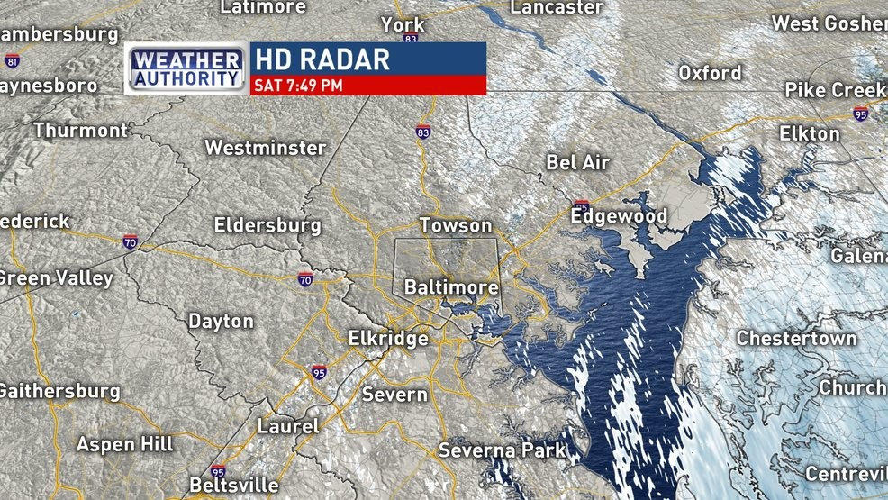 National Weather Service: BWI Airport sets daily snowfall ...