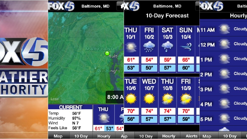WBFF Weather App: Free download for up-to-the-minute weather