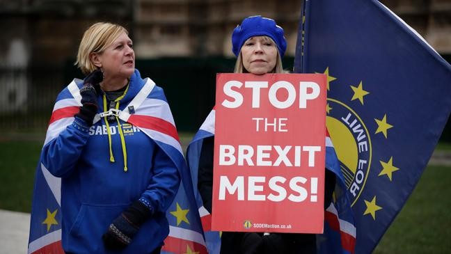 British economy 'stalling' amid intensified Brexit worries