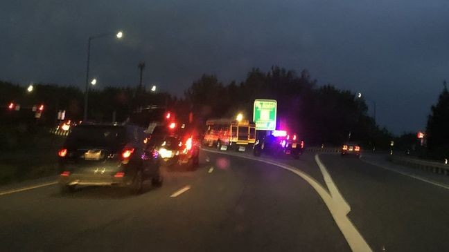 Harford Co  school bus involved in crash on I-95 | WBFF