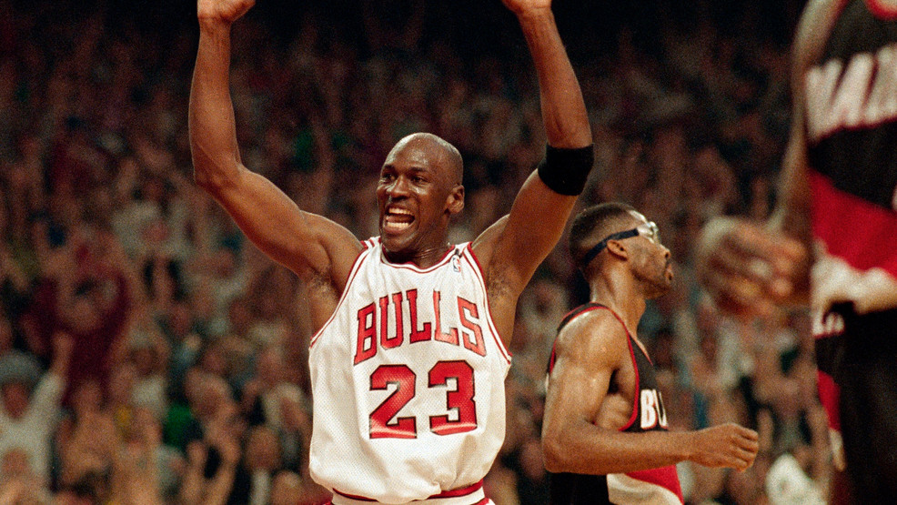 Jordan: Winning 6th NBA title with Bulls was a 'trying year' | WBFF
