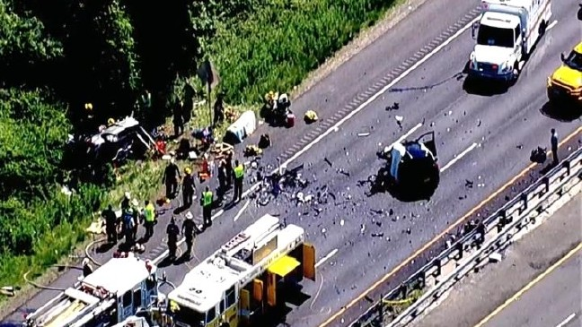 MSP: Wrong-way driver killed in crash on US-50 in Annapolis, infant
