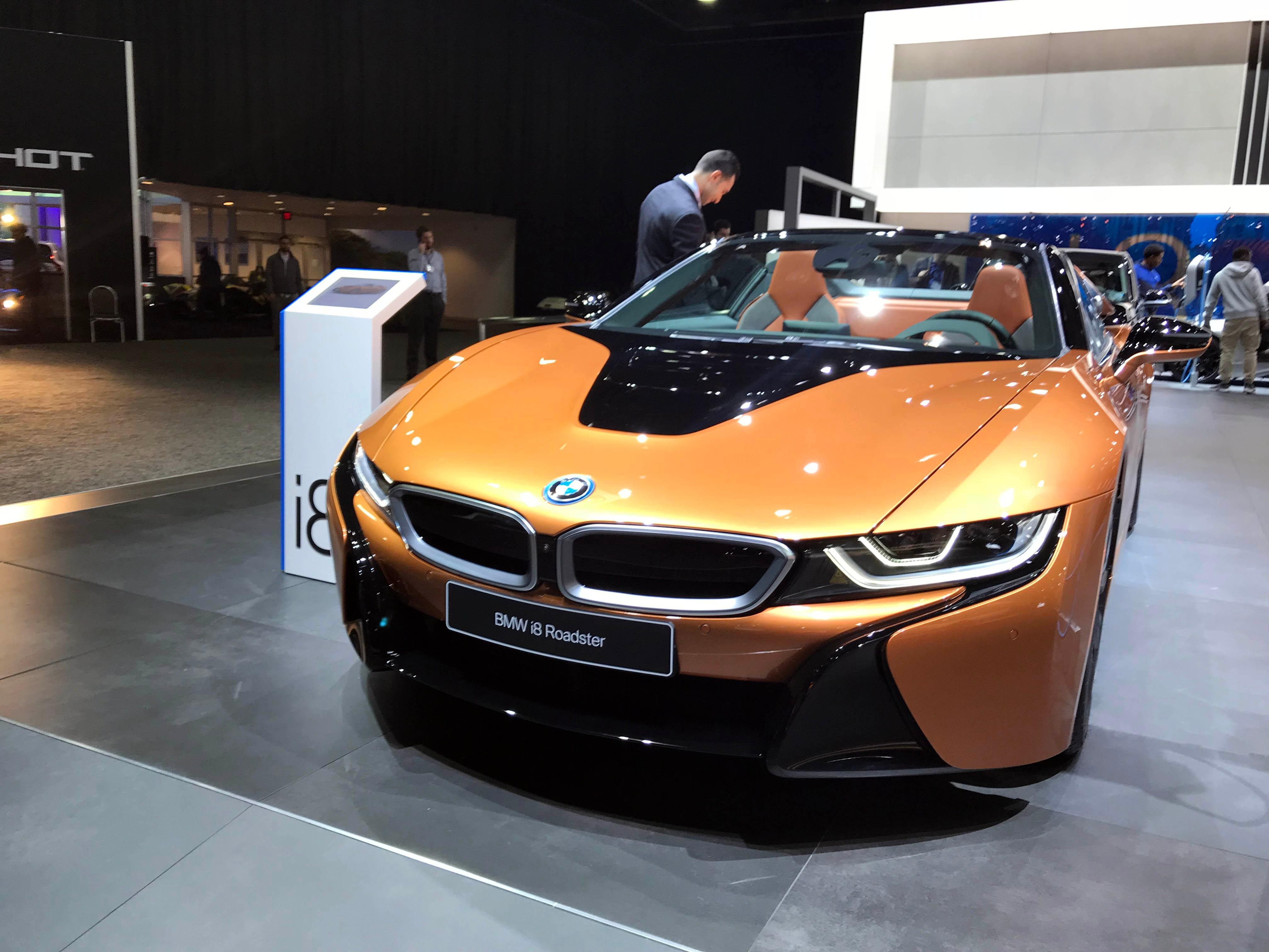 PHOTO GALLERY: Cool cars at the 2018 Detroit Auto Show | WBFF