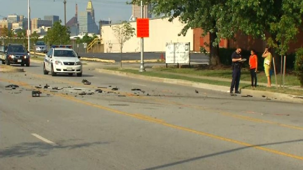 Reported accident near Carroll Park in South Baltimore
