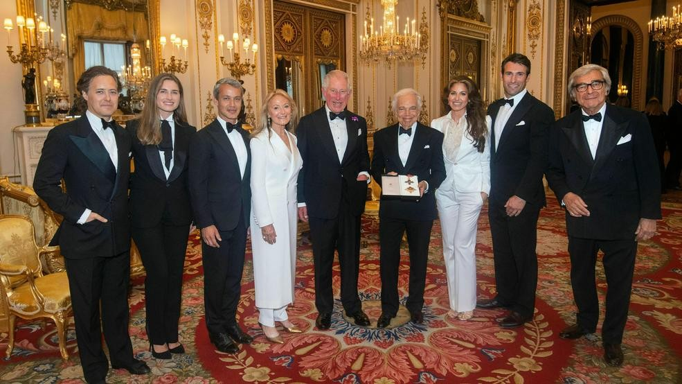 Image result for Ralph Lauren awarded honorary knighthood for services to fashion