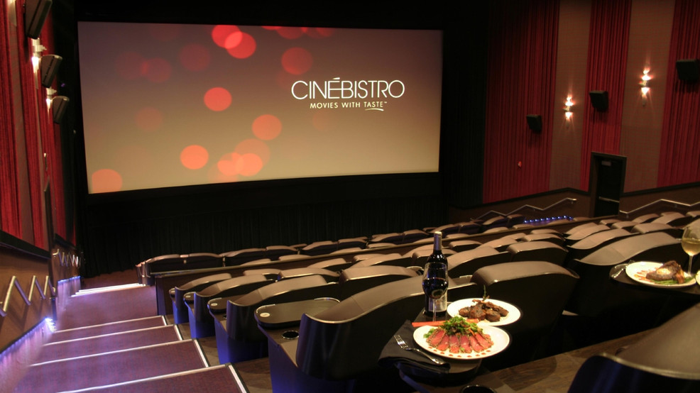Cinebistro Full Service Dining Movie Theater For Ages 21 Opening In Baltimore Wbff